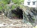 Cave in Polperro - geograph.org.uk - 361979.jpg