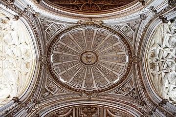 Ceiling - Cathedral of Córdoba - La Mezquita - Córdoba.JPG