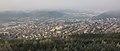 Celkový pohled na město z rozhledny Klucanina, Tišnov, okres Brno-venkov.jpg