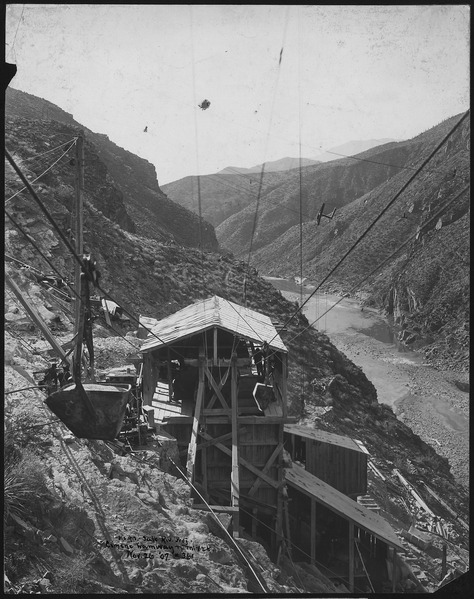 File:Cement tramway terminal and mixer (O'Rourke and Co.) - NARA - 294535.tiff