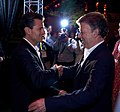 Cena que ofrecen el Excmo. Sr. Juan Manuel Santos Calderón, Presidente de la República de Colombia y su esposa, Sra. María Clemencia Rodríguez. (8793088455).jpg