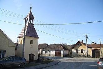 Bochovice - Image: Center of Bochovice, Třebíč District