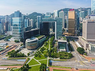 Central Government Complex (Hong Kong) - View of Office Block of the Central Government Complex