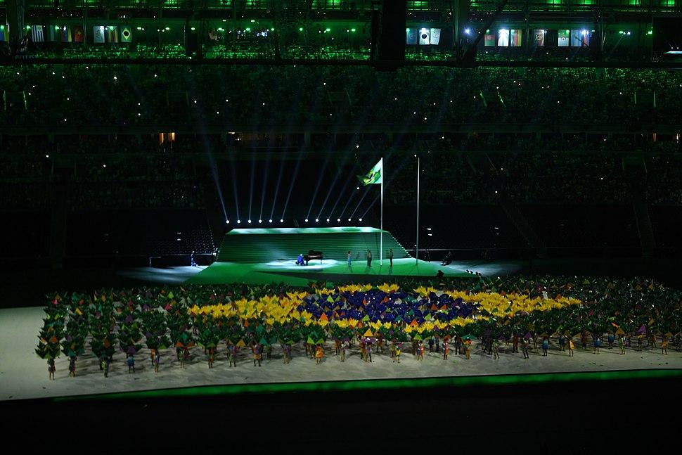 Cerimônia de abertura dos Jogos Paralímpicos Rio 2016 12