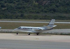 Cessna 550 Citation II.jpg