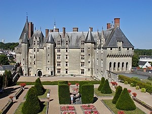 Château de Langeais - The château was rebuilt in the 15th century.