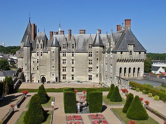 Château de Langeais - The château was rebuilt in the 15th century.