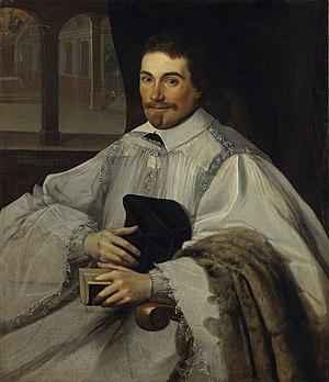 Jean Chalette -  Portrait de Chanoine by Jean Chalette, Musée des Augustins, 1623