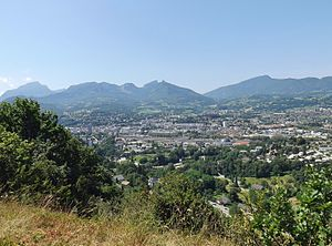 Chambéry - A general view of Chambéry
