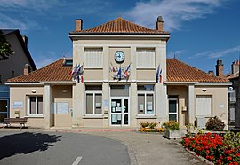 The town hall in Champagné-Saint-Hilaire