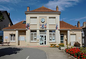 Champagné-Saint-Hilaire - The town hall in Champagné-Saint-Hilaire