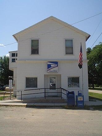 Chana, Illinois - Post office in Chana