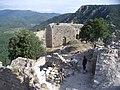 Chantier de restauration REMPART de juillet 2011 au château de Termes.jpg