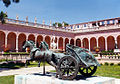 Chariot Sculpture in Courtyard, Ringling Museum.jpg