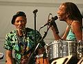 Charles & Charmaine Neville JazzFest 2011.jpg