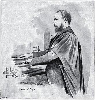 Charles Harford Lloyd - C.H. Lloyd at Eton