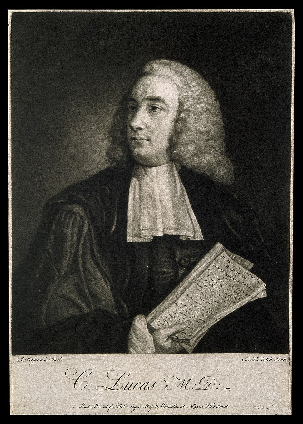 Charles Lucas. Mezzotint by J. McArdell, 1755, after Sir J. Wellcome V0003705