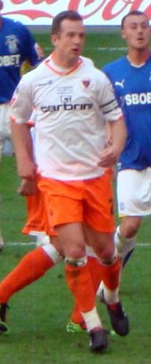 Charlie Adam - Charlie Adam playing for Blackpool in the 2010 Football League Championship play-off Final