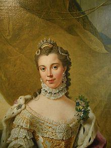 Sophie Charlotte, Herzogin zu Mecklenburg [-Strelitz] (1744–1818). Gemälde nach Johann Georg Ziesenis der Jüngere (Quelle: Wikimedia)