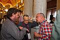 Chatting at Wikimania 2012 Google Opening Reception 3.jpg