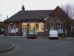 Cheam station main building.JPG
