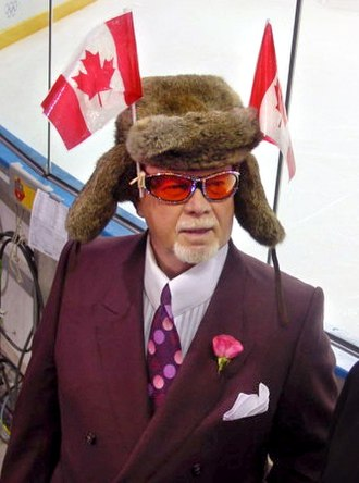 Don Cherry - Cherry at the 2002 Winter Olympics in Salt Lake City, Utah