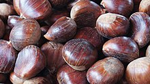 Chestnuts at Ljubljana Central Market.JPG