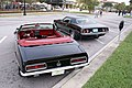 Chevrolet Camaro 1967 SS Convertible Plymouth Barracuda 1974 Black LRears LakeMirrorClassic 17Oct09 (14600526315).jpg