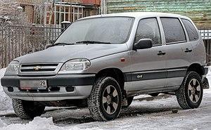 Chevrolet Niva - Chevrolet Niva (2003–2009)