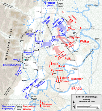 battle of chickamauga wikipedia