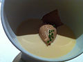 Chicken liver parfait in crayfish cream (7164101077).jpg