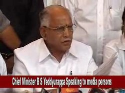 File:Chief Minister B S Yeddyurappa Speaking to media persons.ogv