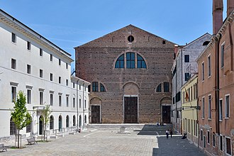Luigi Nono - The Church of San Lorenzo, where Prometeo was premiered in 1984
