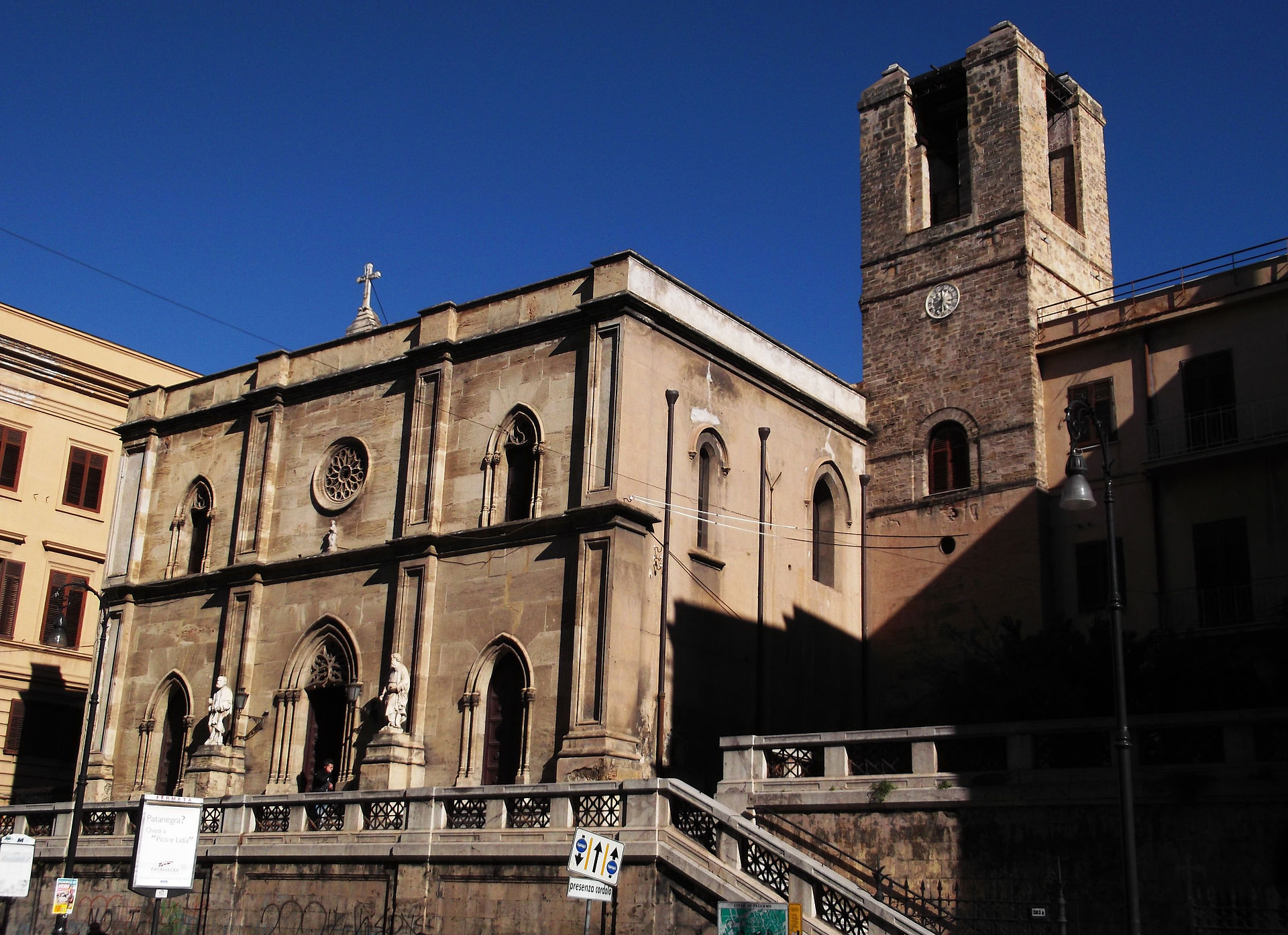 Chiesa di sant 39 antonio abate palermo wikipedia for Arredo bimbo sant antonio abate