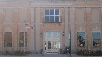 Childress, Texas - Image: Childress, TX, Municipal Building IMG 6208