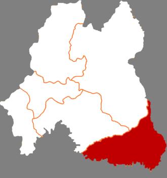 Changbai Korean Autonomous County - Image: China Baishan Changbai