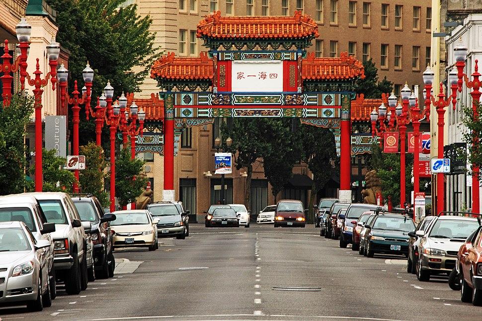 Chinatown in Portland, Oregon