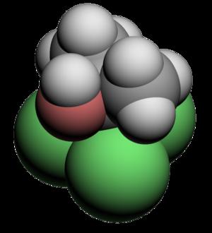Chlorobutanol - Image: Chlorobutanol 3d