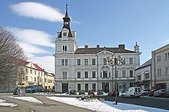 Choceň - Image: Choceň Tyršovo náměstí