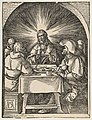 Christ in Emmaus, from The Small Passion MET DP816011.jpg