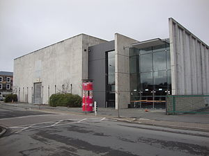 Christchurch Convention Centre - The rear entrance of the Christchurch Convention Centre in Peterborough Street