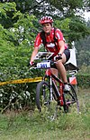 Mountain bike orienteer