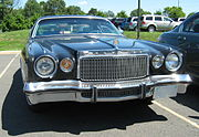 File:Chrysler Cordoba blue front.jpg chrysler cordoba blue front