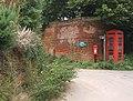 Church End telephone box and postbox - geograph.org.uk - 941172.jpg