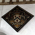 Church of St Mary, Tilty Essex England - nave hatchment.jpg