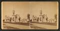 Churches & Parsonage, Antrim, N.H, by S. A. Putnam.png