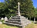 Churchyard cross in St Andrew's Churchyard, May 2020.jpg