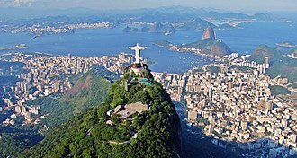 Tourism in Brazil - Rio de Janeiro, the most visited destination in Brazil by foreign tourists for leisure trips, and second place for business travel.