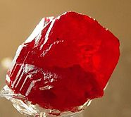 Cinnabar, mercury(II) sulfide