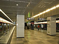 Ciqu South station platform.jpg